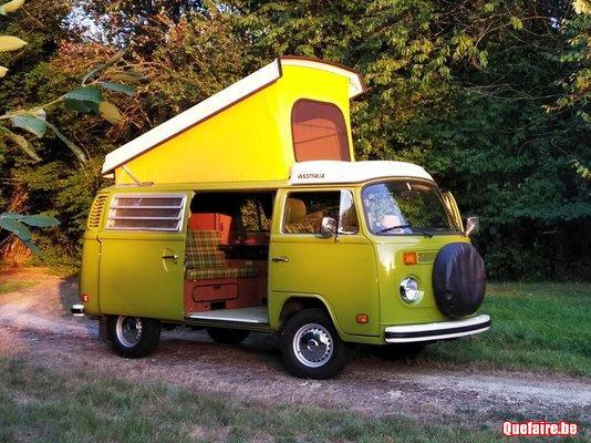 Location louer VW van combi camper T2 westfalia...