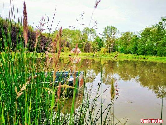 L'étang de la Chevillette.