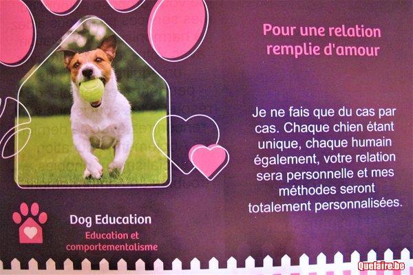 Educateur et comportementaliste canin à domicile