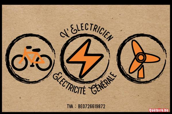 V'Electricien - Electricien à vélo