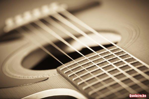 Cours de guitare à Floreffe