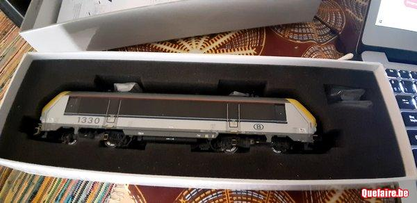 Ls models locomotive sncb h0