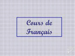 Cours de Français primaire/début secondaire...