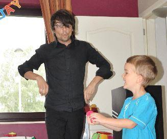 Anniversaire d'enfants - La Magie de Frédéric