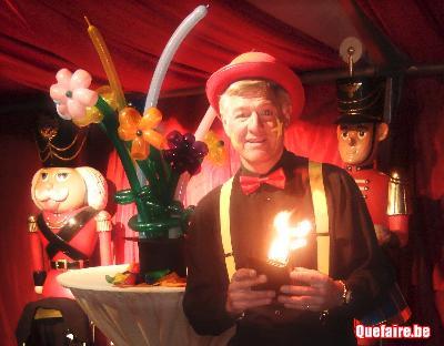Clown, magie, ballons,Krys le magicien, spectacle...